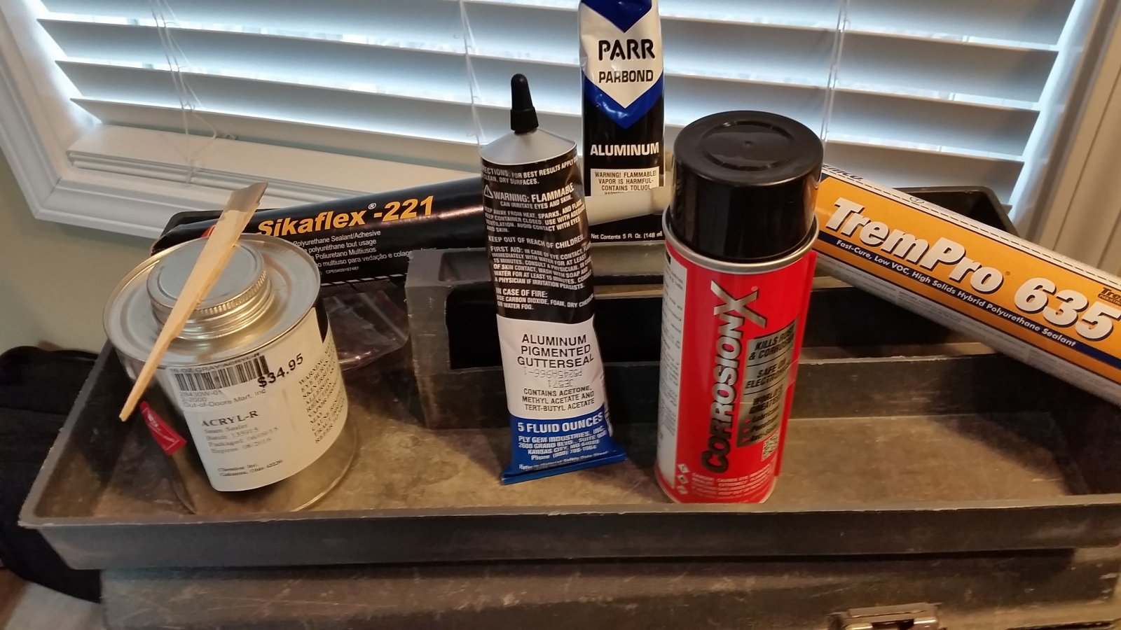 Tested various sealants - FYI - Airstream Forums