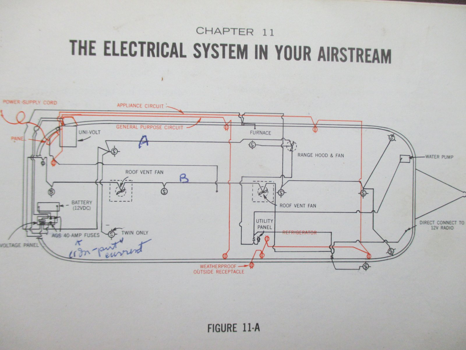 12 volt wiring diagram for 1966 airstream gallery
