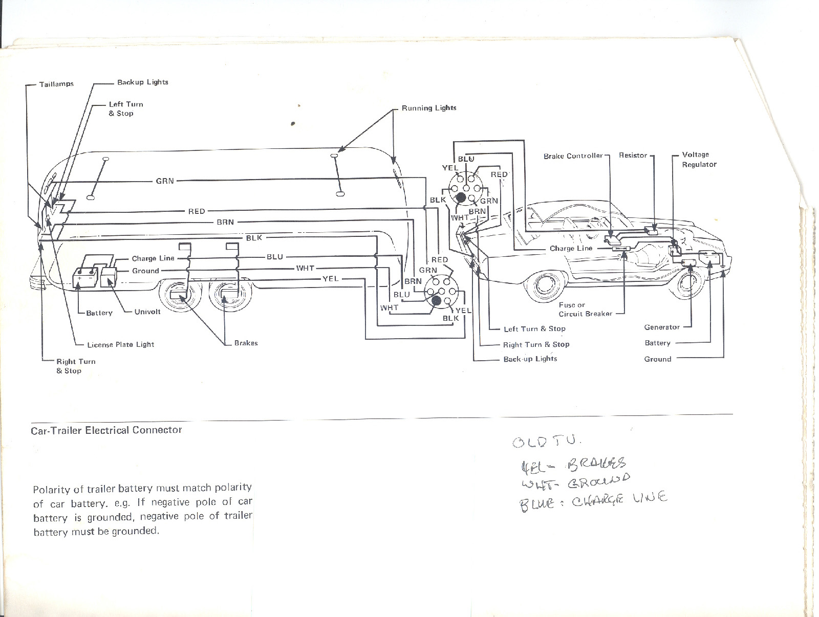 1972 Argosy 20 Electrical Airstream Forums Wiring Diagram Click Image For Larger Version Name 73 7 Pin Views