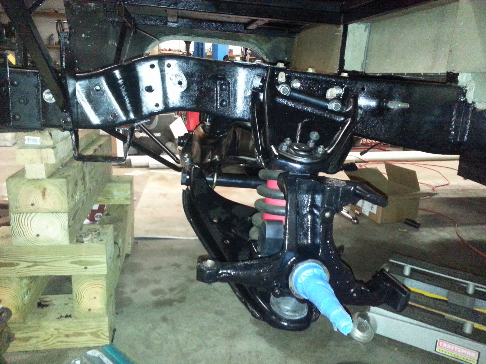 Click image for larger version  Name:74-argosy-front-suspension-installed-1.jpg Views:46 Size:336.2 KB ID:261652