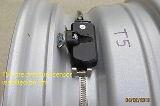 Click image for larger version  Name:TST sensor installed on rim.jpg Views:191 Size:272.2 KB ID:280618