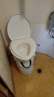 Click image for larger version  Name:New composting toilet on new floor in bath.jpg Views:43 Size:134.4 KB ID:299853