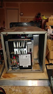 Click image for larger version  Name:New Furnace and Duct Inside Old Case.jpg Views:76 Size:500.9 KB ID:300097
