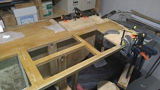 Click image for larger version  Name:Bath Cabinet Beginning Veneer Repair.jpg Views:69 Size:502.0 KB ID:302701
