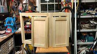 Click image for larger version  Name:Two cabinet doors done.jpg Views:42 Size:282.8 KB ID:302908