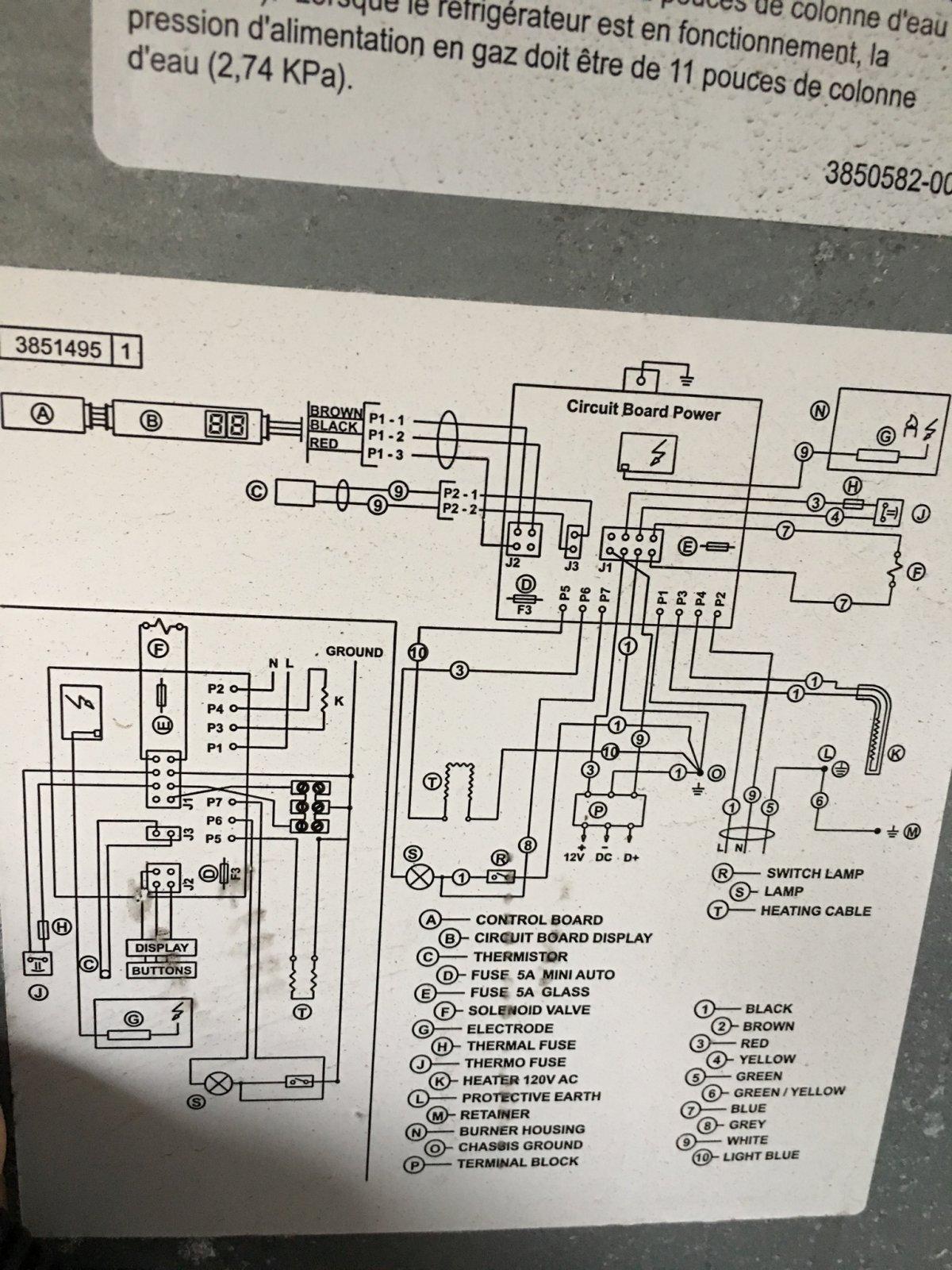 Colorful Burner Wiring Diagram Thermistor Mold - Wiring Standart ...