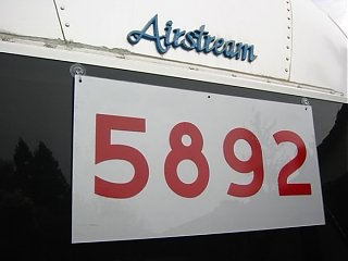 Big Red Numbers - Page 3 - Airstream Forums