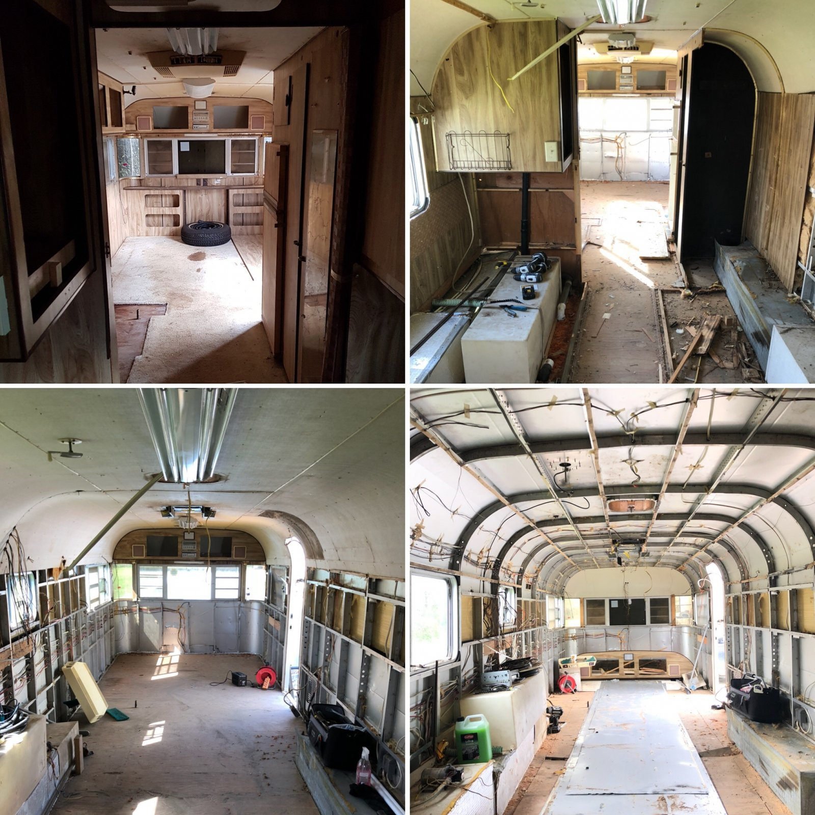 What to use for Interior Walls & ceiling ? - Airstream Forums