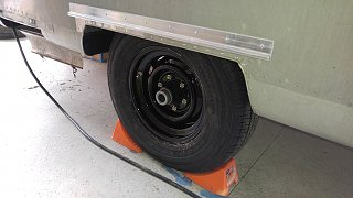 Click image for larger version  Name:New Curbside Wheel and Tire Installed on Trailer.jpg Views:57 Size:390.7 KB ID:309645