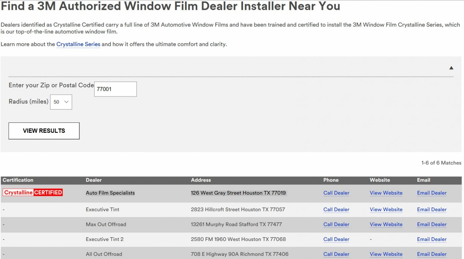 Click image for larger version  Name:3M Crystalline Installers Houston.jpg Views:33 Size:139.4 KB ID:309736