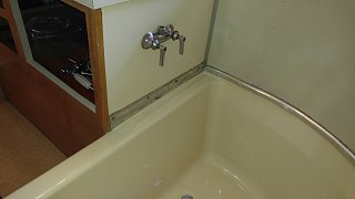 Click image for larger version  Name:Bath Cabinet to Tub Trim Strip Installed.jpg Views:49 Size:296.0 KB ID:312327