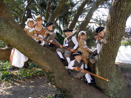 Click image for larger version  Name:colonial kids in tree web copy.jpg Views:58 Size:102.8 KB ID:33911