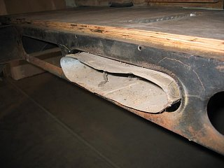 Click image for larger version  Name:1312 Furnace Duct in Tank Pan-800x600.JPG Views:8 Size:49.8 KB ID:344149