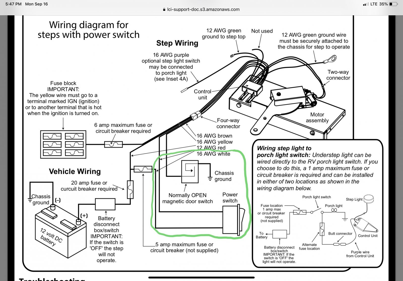 30 Kwikee Step Parts Diagram