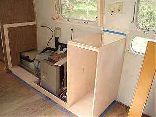 Click image for larger version  Name:Stove and sink cabinets in progress.jpg Views:187 Size:56.7 KB ID:35355