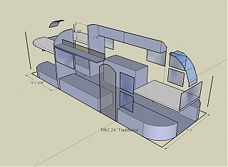 Installed Bunks In My 66 Tradewind Airstream Forums