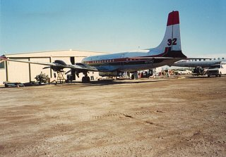Click image for larger version  Name:T & G DC-7C Tanker 32,Tanker 115 in background (2) T&G.jpg Views:8 Size:186.4 KB ID:371325