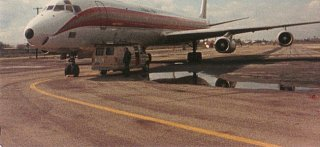 Click image for larger version  Name:Kalitta air Me and my maint van at ONT with DC-8-63 (2)1980s.jpg Views:4 Size:61.5 KB ID:371343