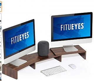 Click image for larger version  Name:Amazon_com__FITUEYES_3_Shelf_Monitor_Stand_Riser_with_Adjustable_Length_and_Angle_Brown_DT108002.jpg Views:26 Size:106.6 KB ID:394437