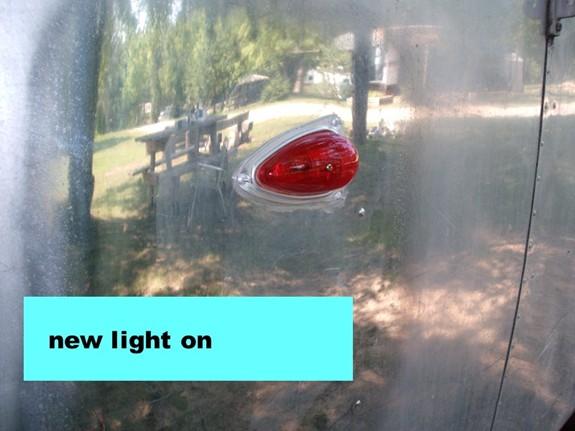 Click image for larger version  Name:'64 TW new marker light - alittle vulkem smear.jpg Views:87 Size:64.1 KB ID:43349