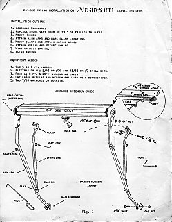 Old (1970s) Zip Dee instructions - Airstream Forums