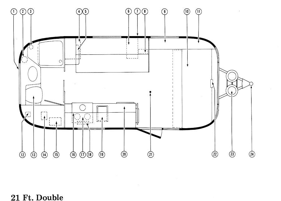 1975 Floor Plans Airstream Forums