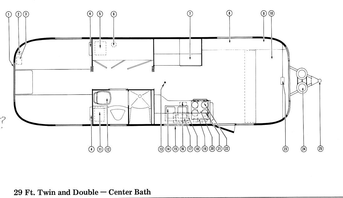 1975 Floor Plans - Airstream Forums