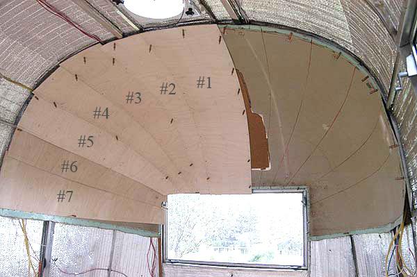 Airstream Replacement Interior Panels