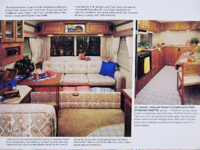 1989 and 1991 Land Yacht (Squarestream) Sales Brochures
