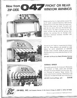 Old 1970s Zip Dee Instructions Airstream Forums