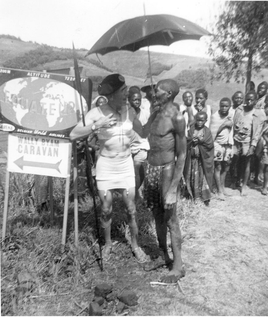 Click image for larger version  Name:AFRICAN CARAVAN 1959 (28) Equater Cross in his Maiden Form Bra.jpg Views:105 Size:196.7 KB ID:59284
