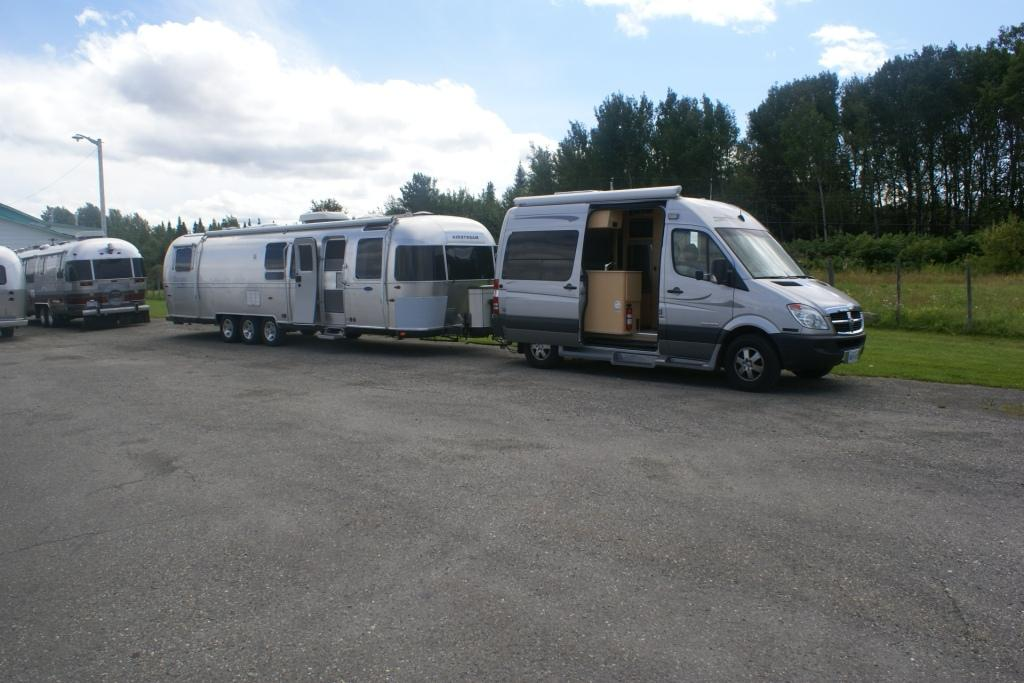 Streamlined airstream page 2 airstream forums for Mercedes benz sprinter towing capacity