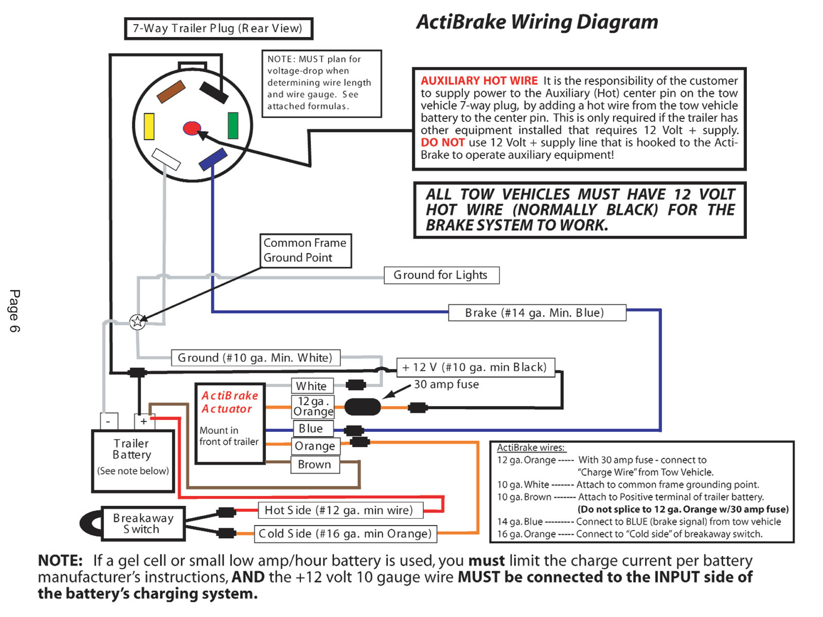 need electrical system expert advice page 2 airstream forums click image for larger version actibrake wiring diagram jpg views 370 size