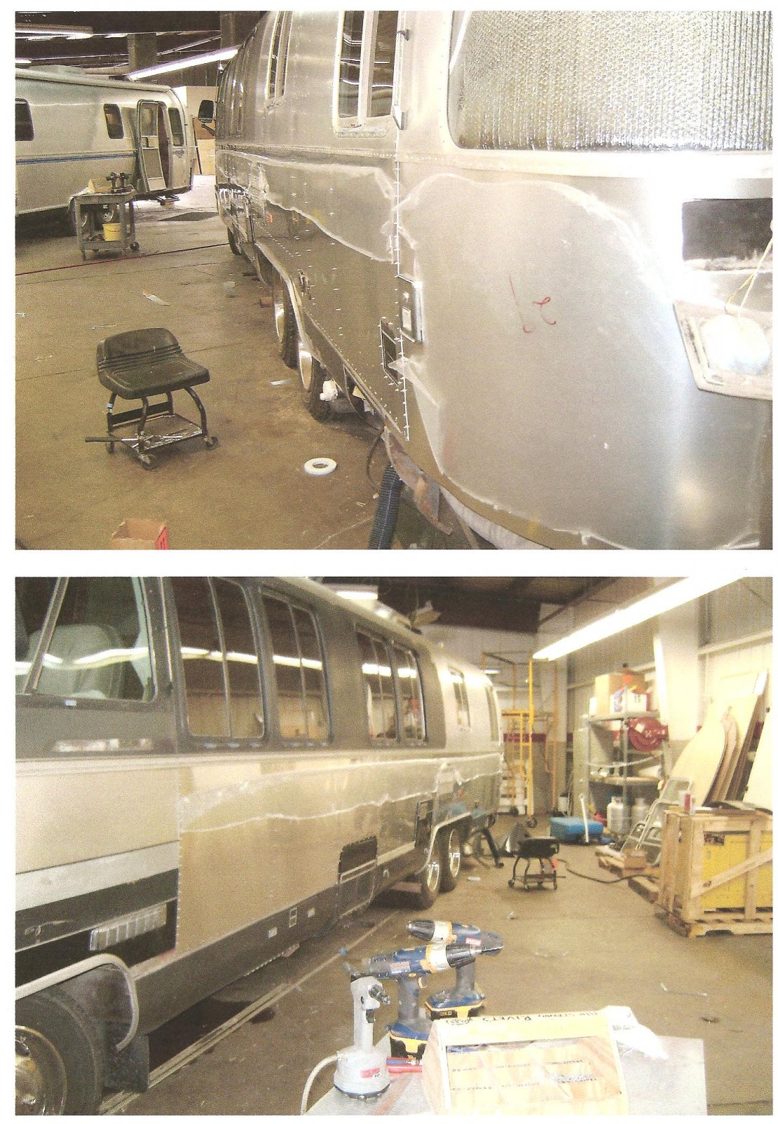 Click image for larger version  Name:345 getting rear wrap around & side panel.jpg Views:101 Size:447.5 KB ID:79549