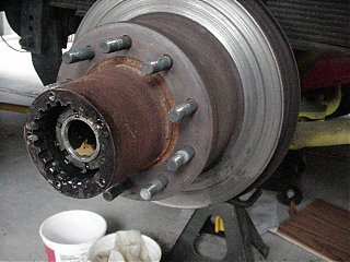 Click image for larger version  Name:Hub and Rotor on Axel.JPG Views:180 Size:49.0 KB ID:8639