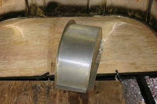 Click image for larger version  Name:First piece of plywood and new wheel well.jpg Views:96 Size:189.1 KB ID:95146