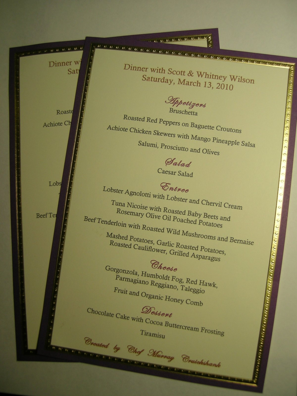 Click image for larger version  Name:The Wilson's Dinner Menu 031310.jpg Views:68 Size:222.6 KB ID:98132