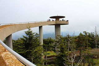 Click image for larger version  Name:Clingman Dome observation tower.jpg Views:157 Size:55.1 KB ID:3811