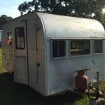 1954 Airstream Byam Holiday Exterior