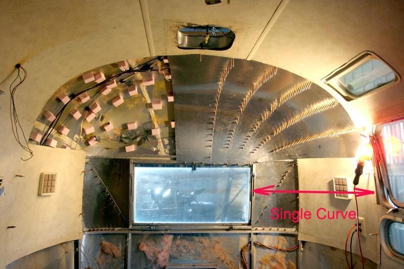 1977 airstream safari airstream forums - Airstream replacement interior panels ...