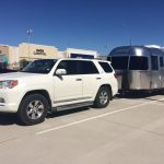 2018 Airstream Sport Tow Vehicle