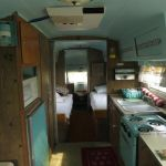 1957 Airstream Overlander Interior