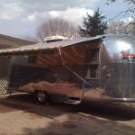 1963 Airstream Trade Wind Exterior