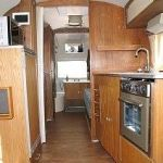 1963 Airstream Trade Wind Interior