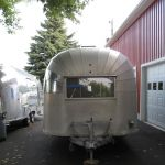 1955 Airstream Overlander Whale Tail Exterior
