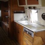 1959 Airstream Sovereign of the Road Interior