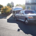 2001 Airstream 70th Anniversary S/O Classic Tow Vehicle