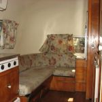 1958 Airstream Globetrotter Interior