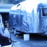 1960 Airstream traveler Exterior