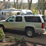 2012 Airstream International Eddie Bauer Tow Vehicle